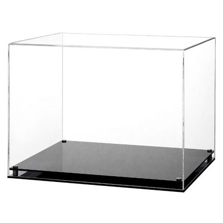 Acrylic Display Case with a Modern Base