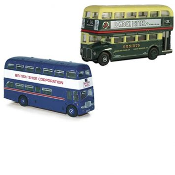 1:76 Scale Model Bus Display Cases